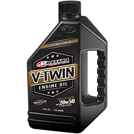 Maxima V-Twin Synthetic Blend Oil