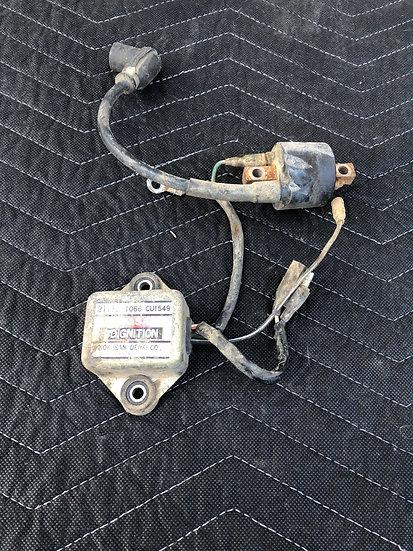 CDI ignition module & coil Kawasaki KX 125 250 1985 '80s