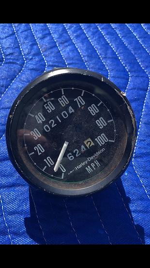 Mid.- Late 1970s SX 250 Harley Davidson Speedometer