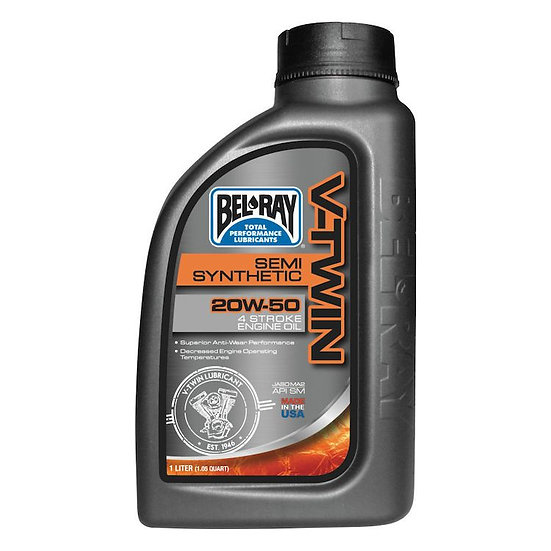 Bel Ray V-Twin Semi-Synthetic Engine Oil