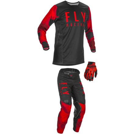 Fly Racing Kinetic K221 Graphic Youth Jersey