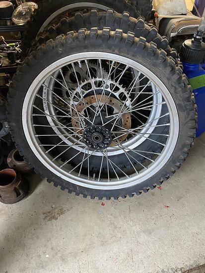 1988-1992 ATK 250 Front Wheel