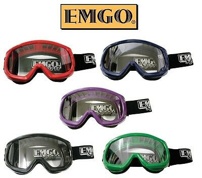 EMGO Youth MX Goggles