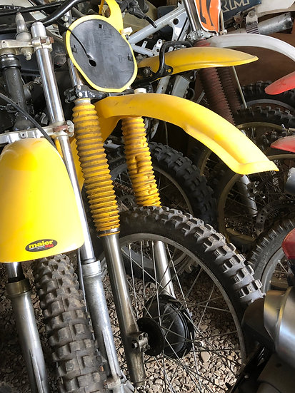 1980 Yamaha YZ 125 Front End