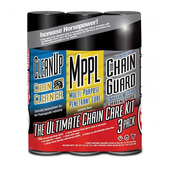 Maxima Syn Chain Guard Ultimate Chain Care Kit