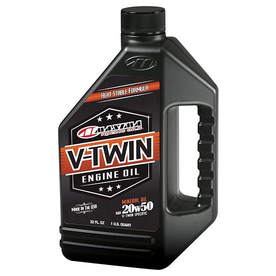 Maxima V-Twin Mineral Oil