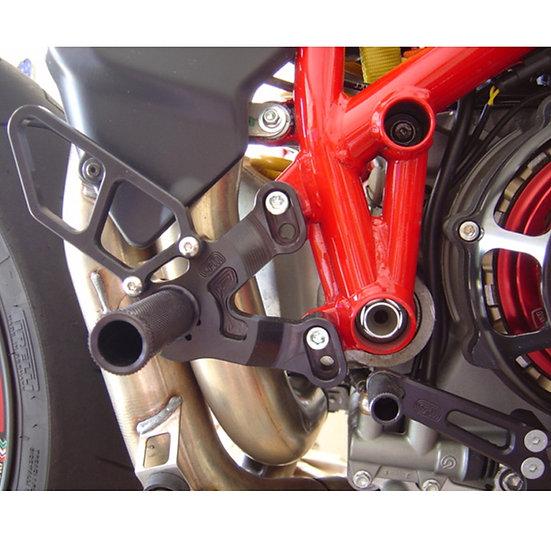 05-0641B Ducati 1198SP/848 EVO Complete GP Rearset (Factory QS)
