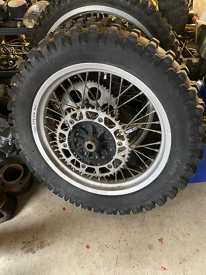 1988-1992 ATK 250 Rear Wheel