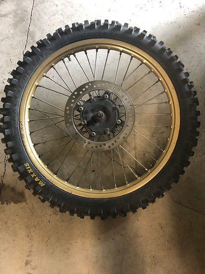 1986/1987 Honda CR 125 Front Wheel