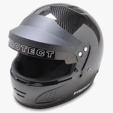 Pyrotect Pro Airflow Carbon Duckbill with Visor SA2015