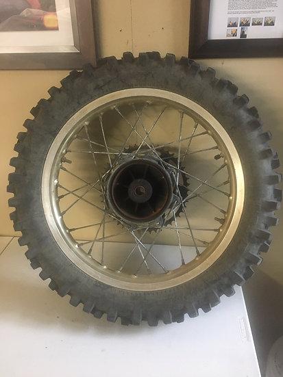 1987 Yamaha YZ 250 Rear Wheel