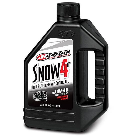 Maxima Snow 4T Full Synthetic Oil