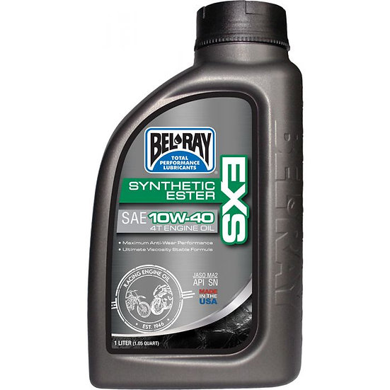 Bel Ray EXS Full Synthetic Ester 4T Engine Oil