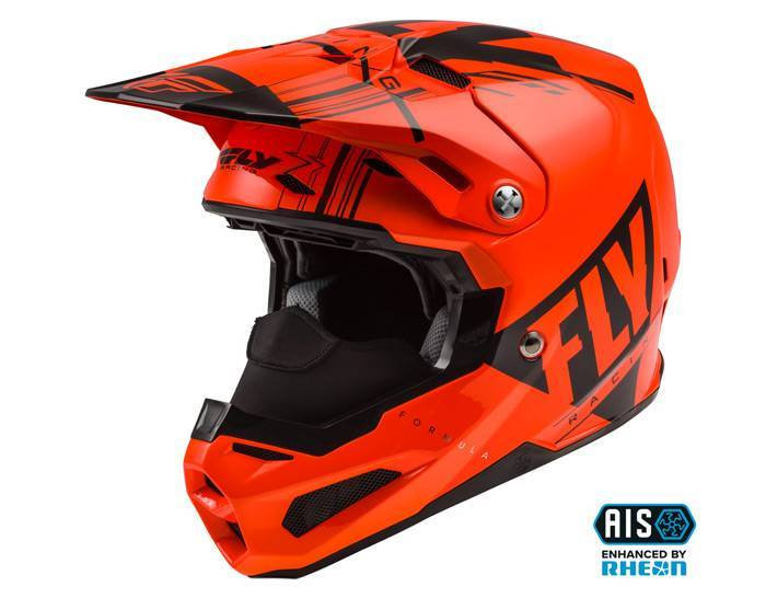 Fly Racing Formula with AIS  Cold Weather Helmet