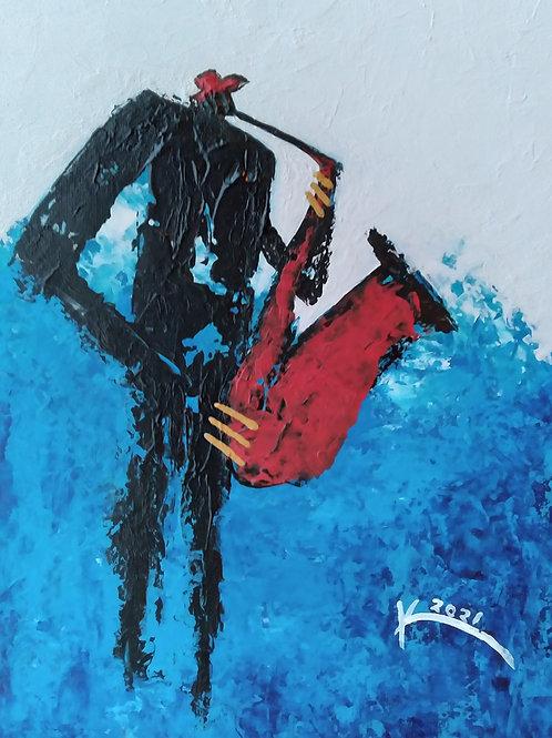 Red Hat & Saxophone