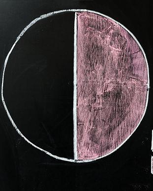 Pie chart drawn on the chalkboard.jpg