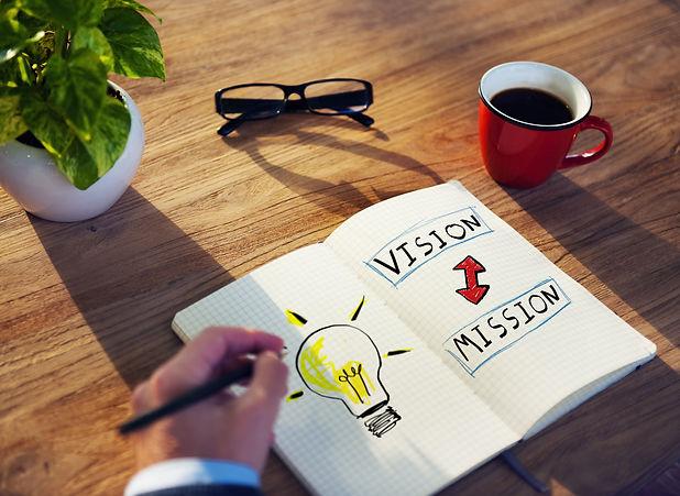 Businessman Motivation Vision Mission Id