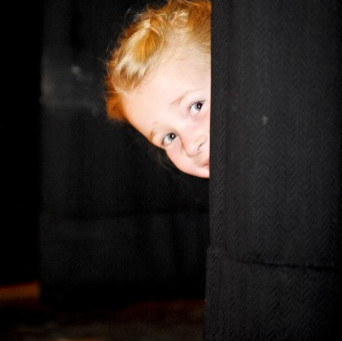 Stage fright or excuse? Four ways to help your child push past the nerves. by Christy Dorrity