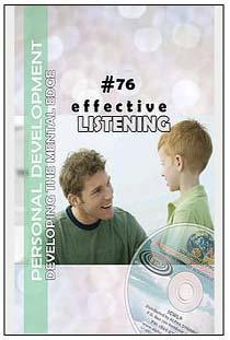 #76 EFFECTIVE LISTENING