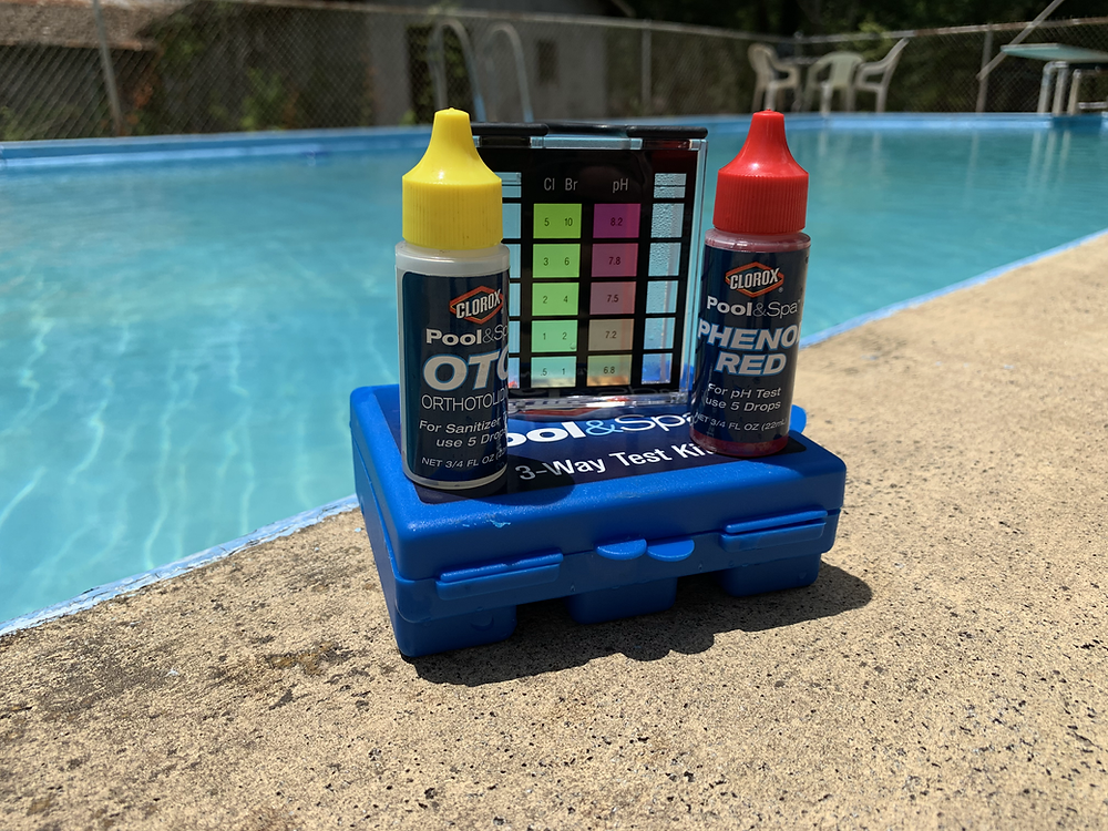 Pool Water Testing Kit