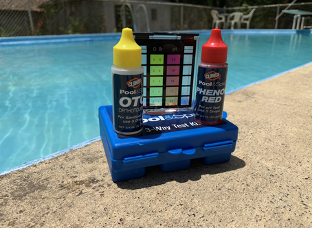 Testing Pool Chemicals