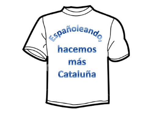 """""""Españoleando, hacemos más Cataluña"""""""
