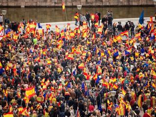 PATRIOTISMO ESPAÑOL EN MADRID