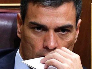 """EL """"SOSTENERSE Y NO ENMENDARSE"""" DE PEDRO SÁNCHEZ"""