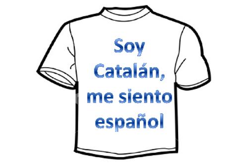 "CAMISETA ""Soy Catalán, me siento español"""