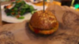 Plant-based food alternative such as this veggie burger.