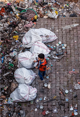 environmental garbage and pollution