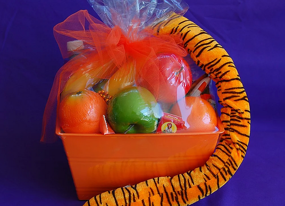 Fruit and Healthy Snack Basket