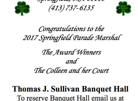 Springfield Colleen Coronation & Awards Presentation Ball Program Book