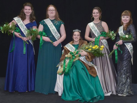 Colleen Curley crowned 2020 Springfield Colleen, Court and Award Winners Honored