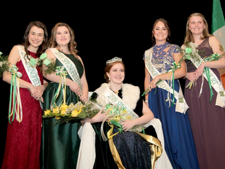 2019 Springfield St. Patrick's Parade Committee Colleen Coronation and Awards Presentation Ball