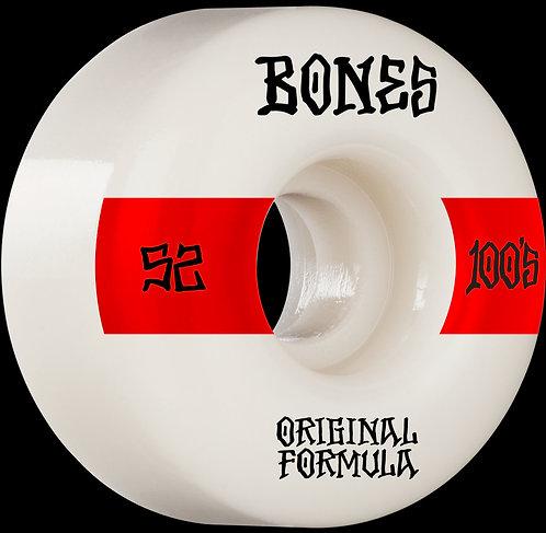 Bones 100's 52mm 4 Pack