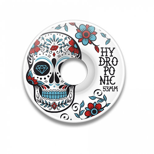 Hydroponic Skull Turquoise 53mm 4 pack