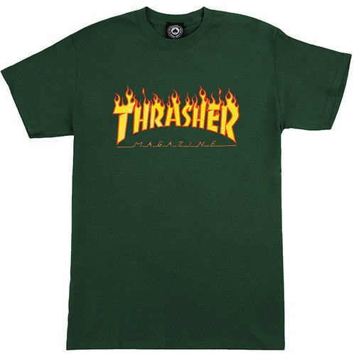 Thrasher Flame Green