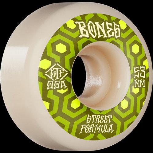 Bones Retro STF 53mm  4 Pack