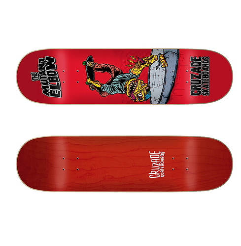 Cruzade Mutant  Elbow Deck 8.0