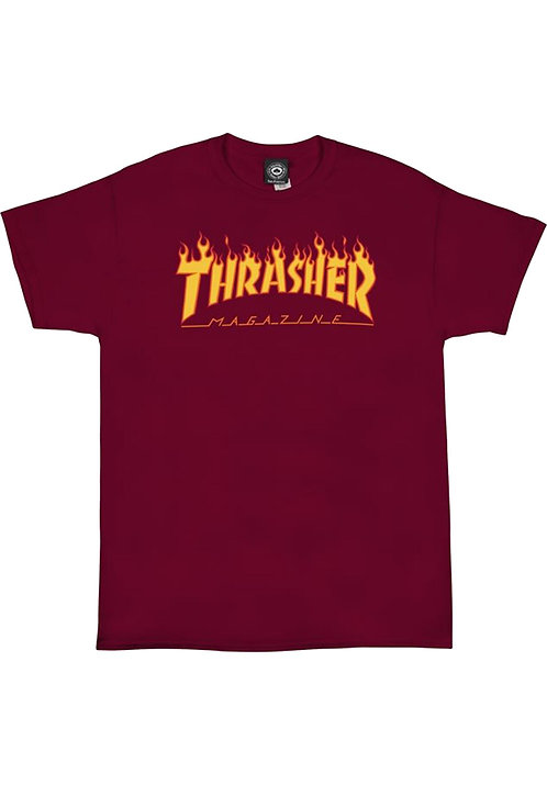 Thrasher Flame Red