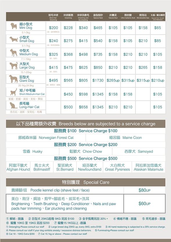 美容傳單 coffee bean grooming PET SALON-02.p