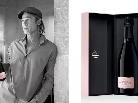 Brad Pitt en Angelina Jolie lanceren Champagne Fleur de Miraval