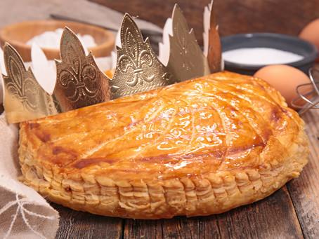 Driekoningen: 'La galette des rois' & champagne, de koning der wijnen en de wijn van koningen!