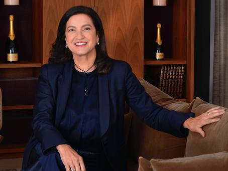 Margareth 'Maggie' Henriquez (Champagne Krug) benoemd tot 'Chevalier de la Légion d'honneur'