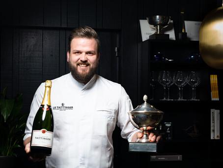 Jan Smink vertegenwoordigt Nederland voor 2e keer tijdens finale van Prix Culinaire 'Le Taittinger'