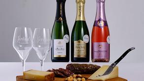 Online champagneproeverij in december 2020 en januari 2021 door Jérôme's Champagne, mét borrelplank!