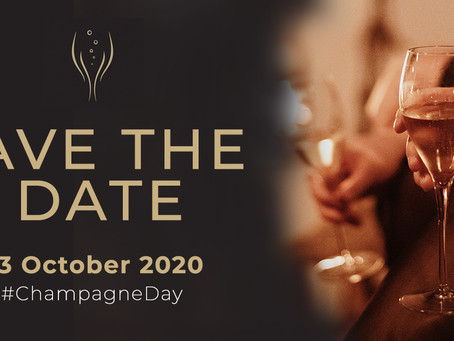 Save the date: 23 oktober 2020 #Champagneday!