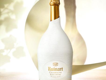 De 'tweede huid' van Ruinart: Eco-design verpakking voor Ruinart Blanc de Blancs en Rosé