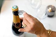 NLF - folie champagnefles verwijderen.jp